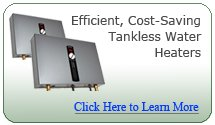 Save money and never run out of hot water with a tankless water heater